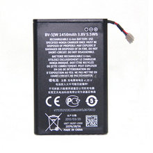 High Quality 1450mAh BV-5JW BV5JW Li-ion Mobile Phone Battery For Nokia Lumia 800 800C N9 N9-00 +Tracking Code