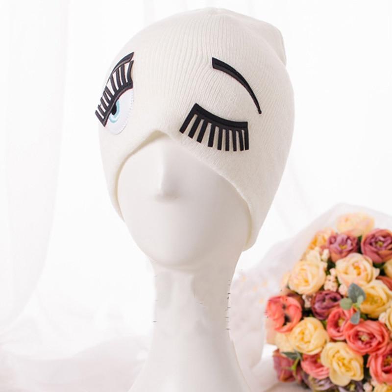 Hot Sale Boy Girl Unisex Kids Autumn Winter Warm Beanie Hat, Cartoon Eyes  Knit Cap, Cute Gorros 4 Colors Hi HOP BerrettiÎäåæäà è àêñåññóàðû<br><br><br>Aliexpress
