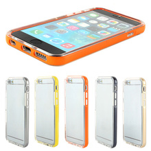 "Hot Selling LED Flash Remind Incoming Call TPU Bumper Skin Housing Cover For iPhone 6 4.7"" Phones"