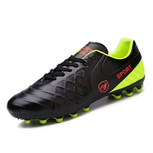 New high quality Soccer Shoes Men Lovers Outdoor Professional Football Boots Mens Soccer Sneakers Adult Soccer Cleats Men 37-44(China)