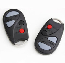 6pieces/lot 4 Buttons Car Keyless Remote Control Fob Case For Nissan Key Replacements