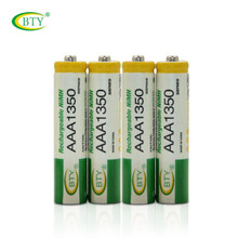 8pcs Original rechargeable battery bty aaa 1.2V 1350 ni-mh bateria 1,2V for panasonic batteries cordless phone camara toys