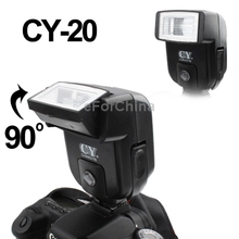 Universal Hot Shoe Camera Electronic Flash with PC Sync Port (CY-20)