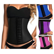 plus size xs-6xl Cheap Prices Waist Trainer Manufacturer Well Back Support Waist Reducing Latex Corset  free shipping
