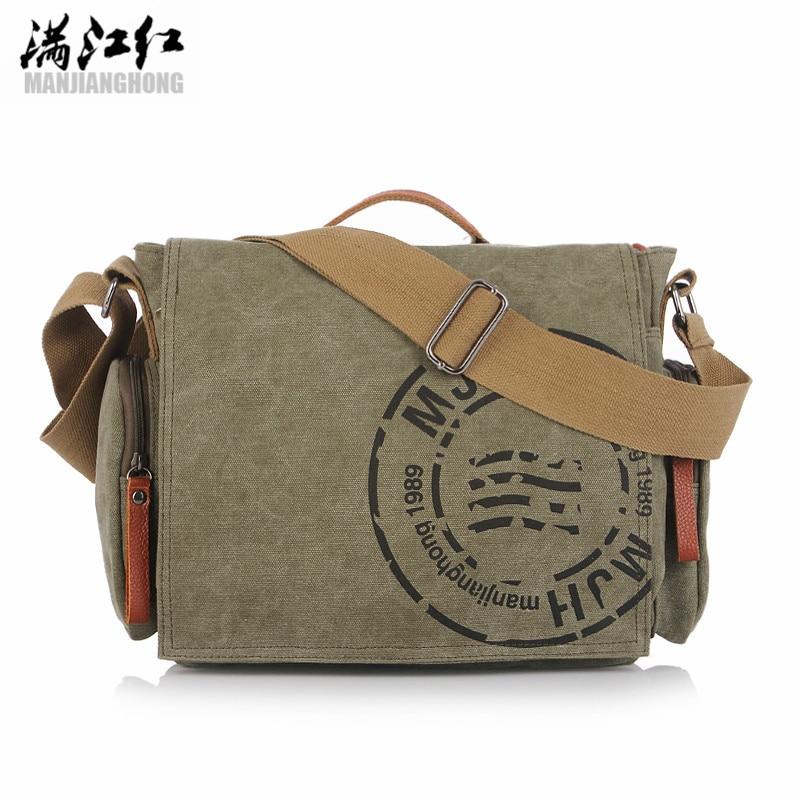 Brand Men Bag 2017 Vintage Handbag Men Canvas Messenger Bags Shoulder Messenger Travel Bag Mens Crossbody Bags <br><br>Aliexpress
