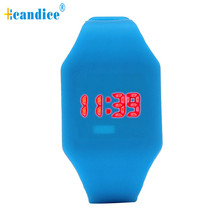 Reloj Paradise New Mens Womens Silicone LED Watch Sports Bracelet Digital Wrist Watch Wholesale dropshipping Mar2