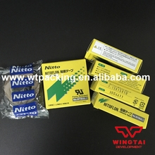973ul-s 50 Roll/lot T0.13mm*W15mm*L10m Japan NITTO DENKO Silicone Adhesive tapes