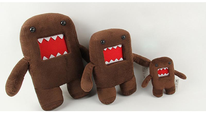 18cm 30cm 40cm Domokun Funny Domo-kun Plush Doll Children Novelty Creative Gift Kawaii Domo Kun Stuffed Toys for Kids (9)