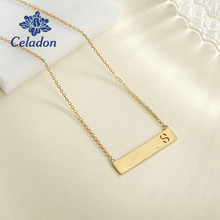 Hot Selling Romantic Swing Drop Necklace Plating Light Gold Color 925 Sterling Silver Fashion Women Jewelry Necklace Pendant