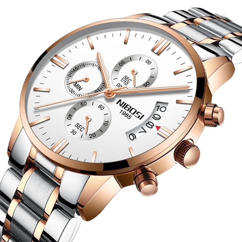 Mens Push Button Hidden Clasp Stainless Steel Quartz Movement  Watch Luminous Waterproof Male Wristwatch Students Gift Watch<br>