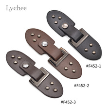 Lychee New Arrival Jacket Leather Metal Buttons Toggle Button Men Women Unisex Solid Color Buttons(China)
