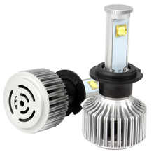 H7 Version of X7 LED Headlamp Headlight Light Source Car Styling All-in-one 40W/Each Bulb #HP