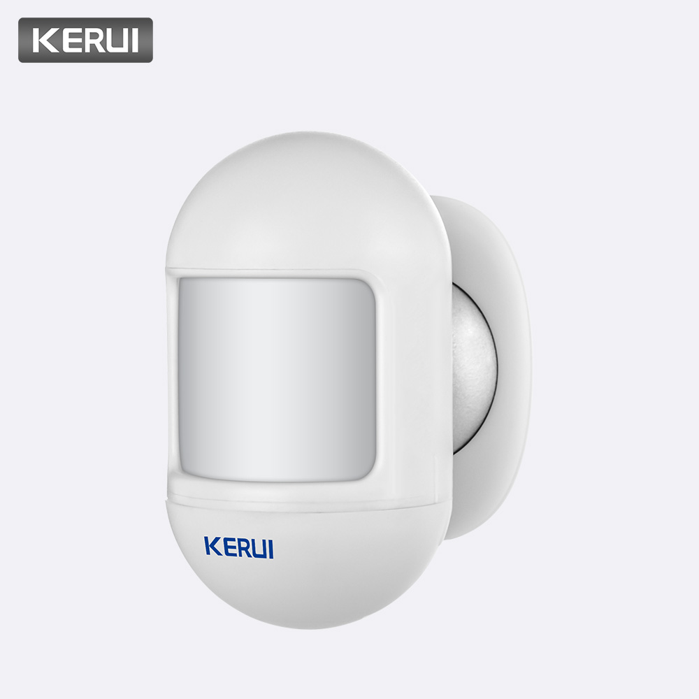 KERUI Wireless Mini Safety PIR Motion Sensor Alarm Alert Detector Home Alarm System Built-in Battery with magnetic swivel base(China)