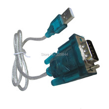 USB 2.0 TO SERIAL RS232 DB9 9 PIN ADAPTER CABLE PDA for Windows XP/win7 with 94CM CABLE RS232 Converter COM Port