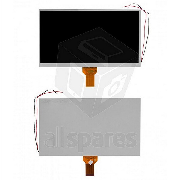 LCD screen for China-Tablet PC 10.1 Tablet 235*143mm 50pin KR101LE3S GPS navigation LCD display screen panel<br><br>Aliexpress