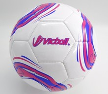 Personalized Machine Sewing Mixture Color Foam PVC football ball Size 5