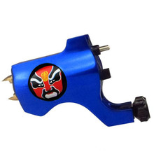 Tattoo Trends Bishop Style facial masks Red Rotary Tattoo Machine Blue Liner Shader Beijing Opera Facial Masks tattoo gun