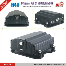 H40G (with GPS), 4CH Full D1 HDD & SD Card P2P Cloud Mobile DVR GPS DVR Mini HDD DVR