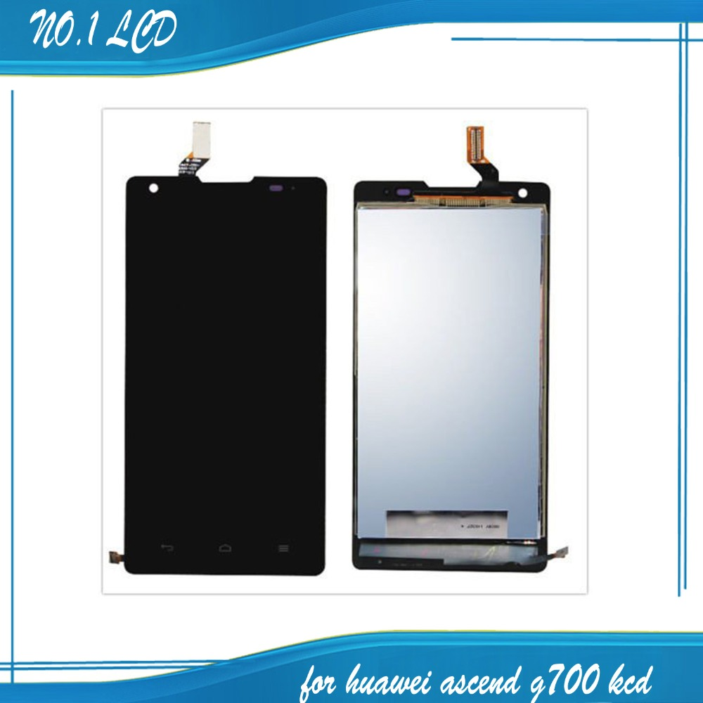 Hot Selling Assembly LCD Display Touch Screen Digitizer Glass For Huawei Ascend G700<br><br>Aliexpress