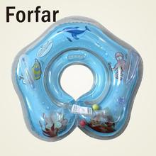 Forfar swimming inflatable baby boat conformation baby neck float infant baby tube ring swimming pool neck circle float ring(China)