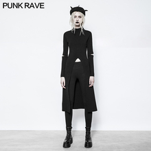 2017 new design punk rave gothic style sweater dress women knitted sweater winter clothes women OPM-052(China)