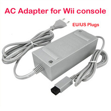 US/EU Plug 100-240V DC 12V 3.7A Home Wall Power Supply AC Charger Adapter Cable for Nintendo Wii Game Console Host(China)