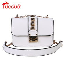 Buy Women Messenger Bags Luxury Brand Ladies Shoulder Bags High Puers Leather Designer Chain Handbags Flap Crossbody Bags for $13.40 in AliExpress store