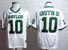 Nike Youth 2014 Fiesta Bowl Game Robert Griffin III 10 College Ice Hockey Jerseys M,L,XL,2XL,3XL(China)