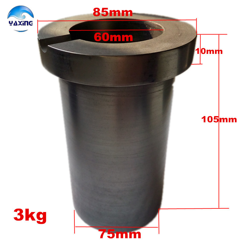 crucible graphite gold for melting metal high purity graphite crucible 3kg <br>