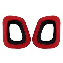 2016 hot sale fashion For Logitech Earpads for G230 G430 G930 G35 F450 Gaming Headset Black & Red Headphones pads nice