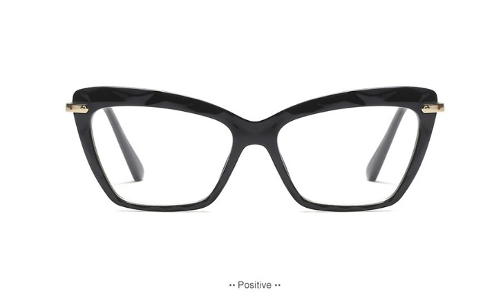 45591 Fashion Square Glasses Frames Women Trending Styles