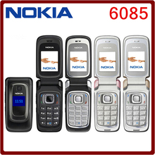 Original Nokia  6085 original Mobile phone unlocked quad band FM Radio GSM cellphone Free shipping