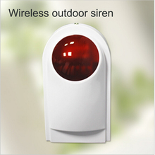 Wireless outdoor siren with backup battery for wireless wifi gsm alarm AP-G90B security safe alarm system