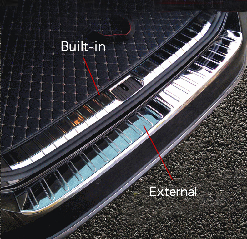 b8 Variant Combi-Paint Protection Film Loading Sill Protector 3g Suitable for VW Passat