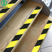 WHISM 5M Roll of Anti Slip Tape Self Adhesive Safety Tape PVC Floor Stickers Warning Decking Strip For Stair Floor Bathroom(China)