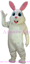 Easter White Rabbit Bunny Mascot Costume Factory Direct Custom Happy Bugs Bunny Mascotte Fancy Dress for Easter Gift SW1471