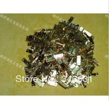200pcs High Quality Mini steel with glod plated 22*9*6 MM 4 Hole Door Hinges(China)