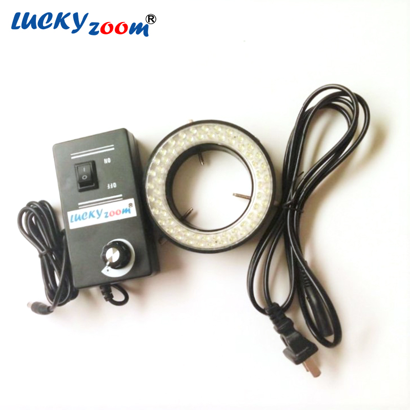 Lucky Zoom New Arrival 60 LED Adjustable Ring Light illuminator Lamp For STEREO ZOOM Microscope EU/RU/US Plug With Low Price<br><br>Aliexpress