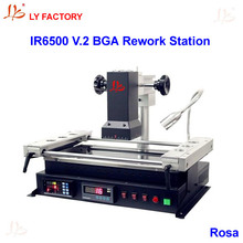 Low Cost BGA Machine LY IR6500 V.2 for Motherboard Chips Repairing with RS232 to USB Port(China)