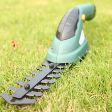 Freeshipping Garden Tools 3.6V Grass Cutter Pruning Tools brush cutter Pruning Shears grass trimmer lawn mower ET1205C-DG 2in1