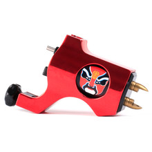 New Rotary Tattoo Machine Bishop Style Professional Red Color Tattoo Machine For Liner & Shader Free Shipping
