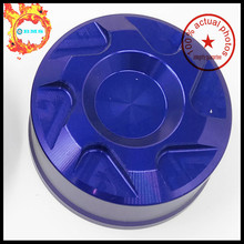 Motorcycle Accessories Rear Brake Fluid Reservoir Cover Cap For YAMAHA MT125 MT-125 2014-2015 Blue CNC Aluminum(China)