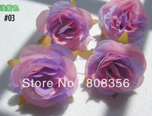 100p 6*5cm lilac 03 Artificial Simulation Flower Heads Peony Rose Floral Decorations(China)