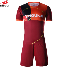 Club soccer jersey customizing,colorful strips football jerseys,create your own design team uniform(China)