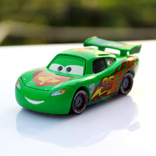 Disney Pixar Cars 2 Green Limited Edition No.95 Lightning Mcqueen 1:55 Scale Diecast Metal Car Children Toys Car