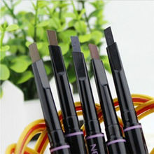 1PC Brand Automatic Makeup Eyebrow Pencil 5 Style Paint for The Eyebrow Pencil Cosmetics Eye Brow Pen Eye Liner Tools(China)