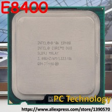 Original Intel Core 2 Duo E8400 CPU Processor 3.00Ghz 6M Socket 775 Free shipping ship out within 1 day(China)