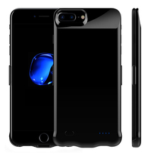 Buy New arrival Power Bank case iPhone 8 Plus 10000mAh External Battery Backup Charger cell phone cases iPhone 8 power case for $21.38 in AliExpress store