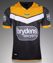 Wests Tiger Rugby Jersey,16-17 Rugby Shirts,Adult male Rugby Shirt,polyester breathable Rugby T Shirt clothing S-2XL