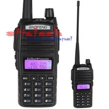 by dhl or ems 10pcs Range Baofeng UV-82 Dual Band VHF 136 - 174MHz / UHF 400 - 520 MHz FM Transceiver Walkie Talkie(China)